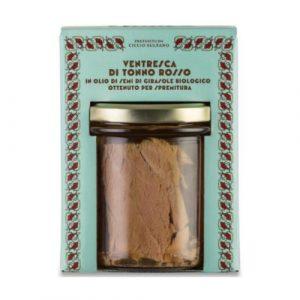 Ventresca di Tonno Rosso in olio di semi di girasole bio 320 GR