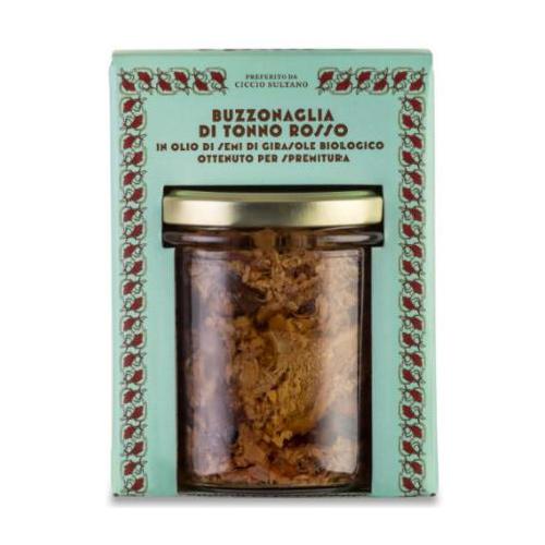 Buzzonaglia di Tonno Rosso in olio di semi di girasole bio 320 GR