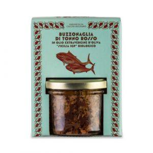 Buzzonaglia di Tonno Rosso in olio extra vergine di oliva 190 GR