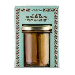 Filetti Tonno Rosso in olio extra vergine di oliva 320 GR