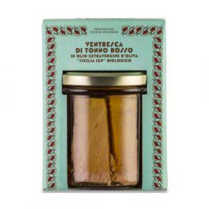 Ventresca di Tonno Rosso in olio extra vergine di oliva 320 GR