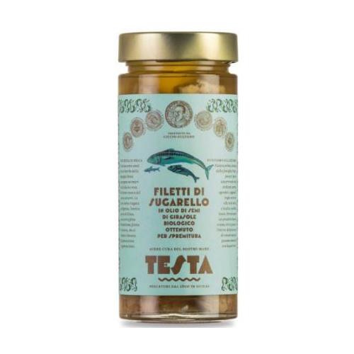 Sugarello in olio di semi di girasole bio 290 GR