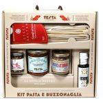 La salsa buzzonaglia viaggia in kit
